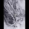 sárkány japán fali dekoráció