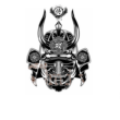 Samurai mask póló