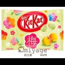 Japán ume szilva Kit Kat