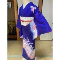selyem kimono kíiotóból