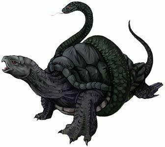 genbu japan teknős japán mitologia