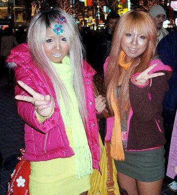 glam crop stílus japán divat