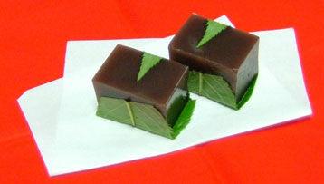 yokan japán wagashi édesség