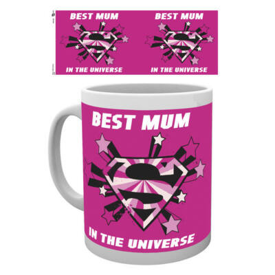 DC Comics Bögre Best Mum In Universe