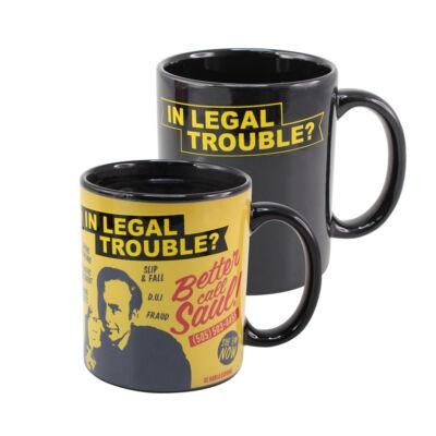 Better Call Saul Thermohatású bögre, In Legal Trouble