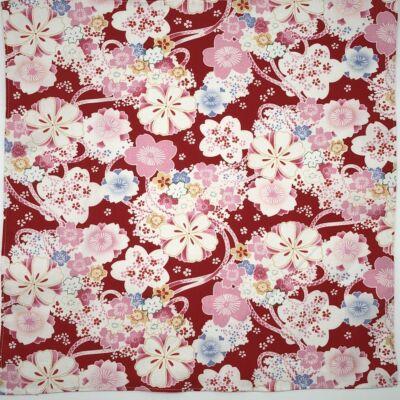 Furoshiki - piros sakura