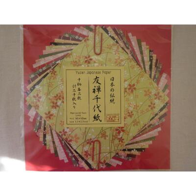 Yuzen papír - Sakura