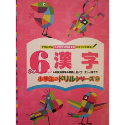 Kanji gyakorló füzet 6.