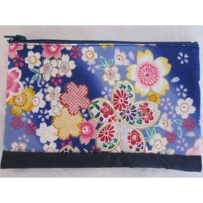 """Sakura"" Kozmetikai táska- Kék"