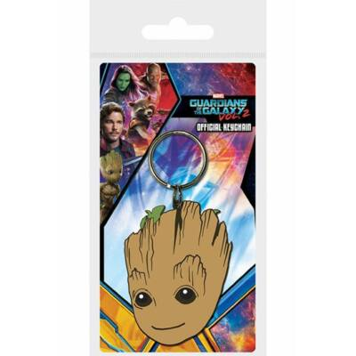 Guardians of the Galaxy Vol. 2 Gumi-Kulcstartó Baby Groot 6 cm