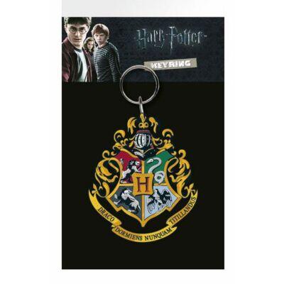 Harry Potter Hogwarts jelvények kulcstartó 7 cm