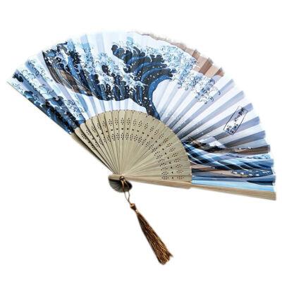 Hokusai Nagy Hullám legyező
