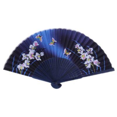 Legyezö japános mintával_Orchid