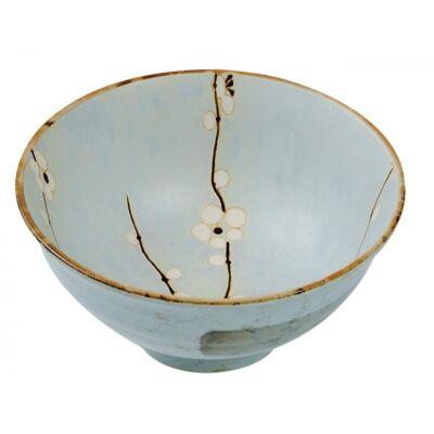 Shoshun kék sakura tál