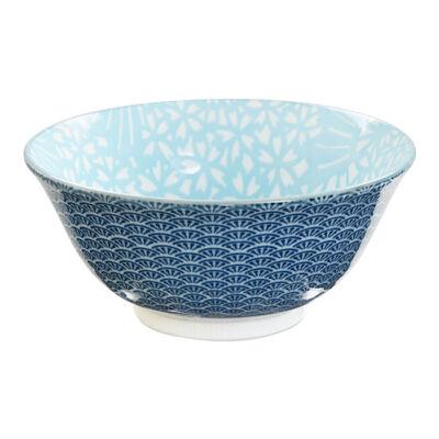 Shiki Tayo porcelán tál - kék