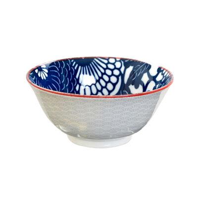 Shiki Tayo porcelán tál- Kiku