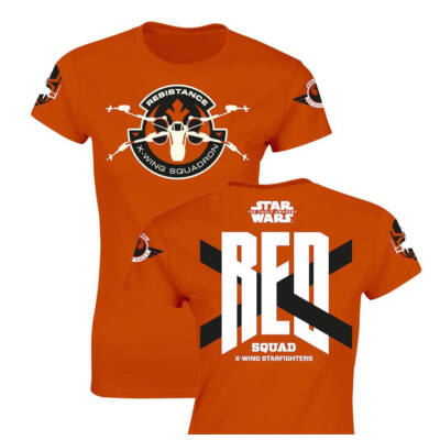 Star Wars Episode VII PolóT-Shirt RED Squad