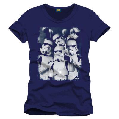 Star Wars Poló Selfie Troopers