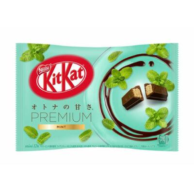 Zöld teás Kit Kat, Mentás ízű