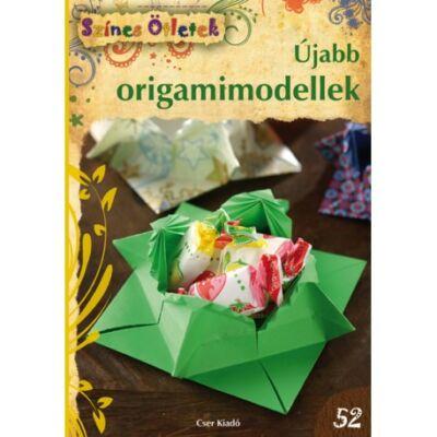 Barkó Magdolna Újabb origamimodellek - Színes Ötletek 52.