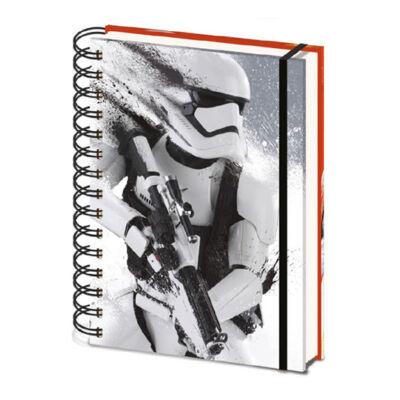 Star Wars Episode VII Jegyzetfüzet A5 Stormtrooper