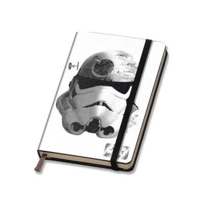 Star Wars/ Csillagok háborúja Episode VII Jegyzetfüzet Halálcsillag+Stormtrooper A5