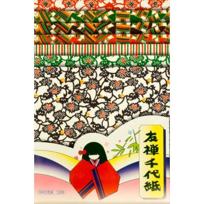 Yuzen papír 24 lap– Kitamura