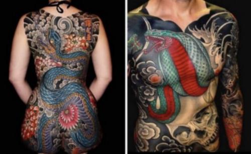 irezumi, japán tetoválás