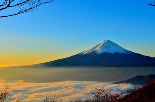 fuji japán hegy