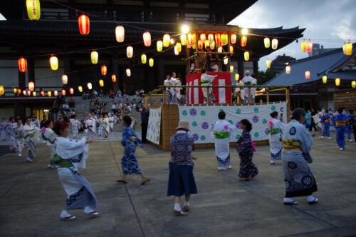 obon bon odori japán nyár ünnep fesztivál matsuri