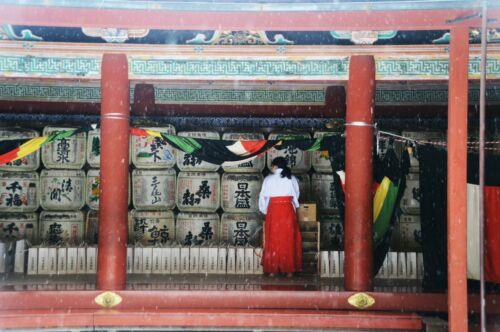 miko, shinto szentely