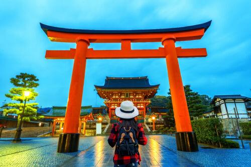 japan fushimi inari taisha érdekesség, boldogság