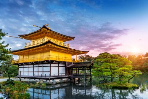 kinkakuji arany pavilon kioto