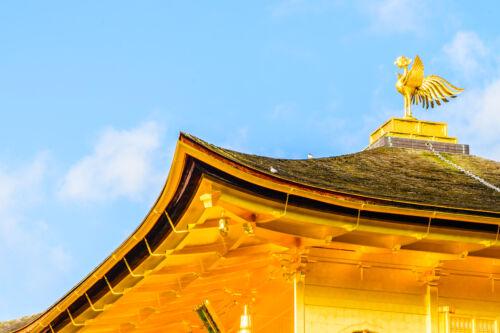 Kinkakuji főnix arany pavilon kioto
