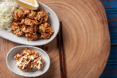 karaage japán csirke sült recept japán gasztronómia recept japán étel