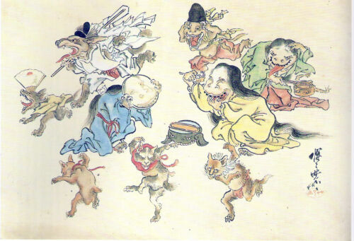 hyakki japan yokai szellem horror tortenet
