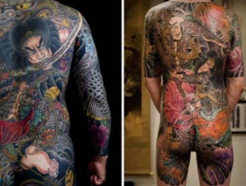 irezumi, yakuza tetoválás