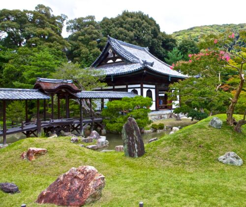 kyoto, kioto, kodai ji templom, robot pap