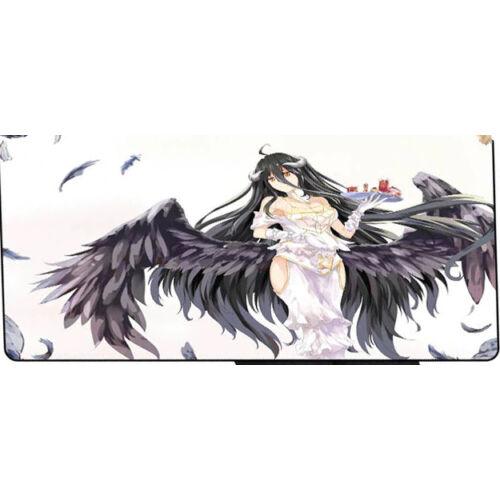 Nagy méretű 30*60 cm-es egérpad, kawaii black angel
