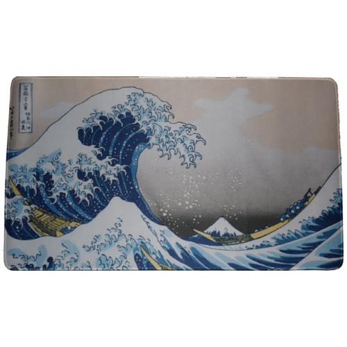 Nagy méretű 30*60 cm-es egérpad, ukiyo-e, wave of kanagawa
