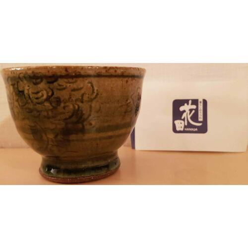 Kerámia csésze, 10 cm magas, egyedi alkotás