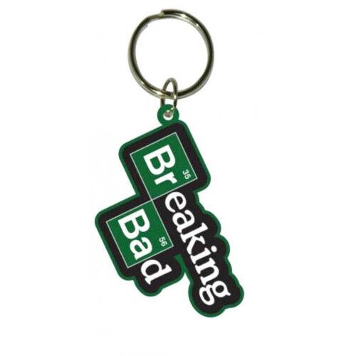 Breaking Bad Gumi-Kulcstartó logo 4 cm
