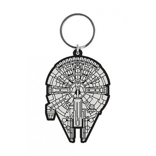 Star Wars Gummi Kulcstartó Millenium Falcon 6 cm