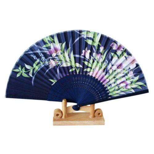 Legyezö japános mintával kék
