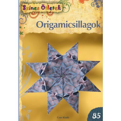 Origamicsillagok - Színes Ötletek 85.