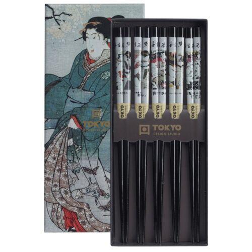 Evöpálcika szett bambusz shunga erotikus tradícionális mintákkal