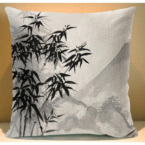 Díszpárna huzat Bambusz