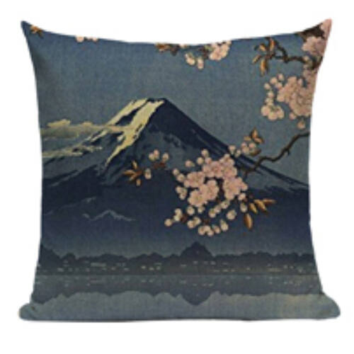 Díszpárna huzat Fuji, Sakura