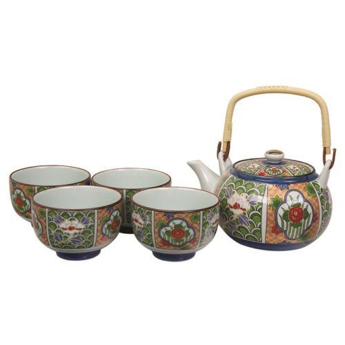 Japán teáskészlet arita porcelán