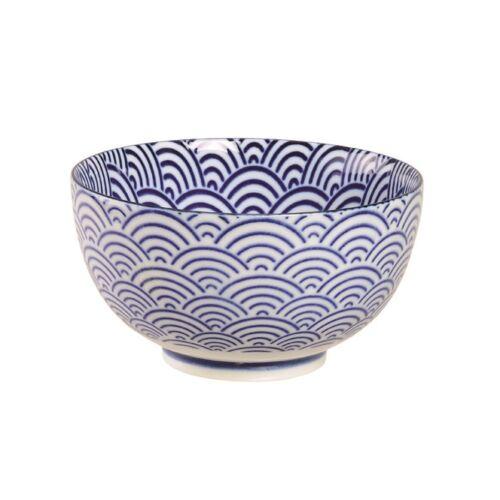 Kék hullám teás csésze chawan 13,2x7,5cm
